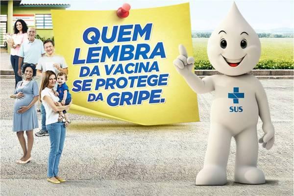 VACINAÇÃO CONTRA A GRIPE - ZONA RURAL