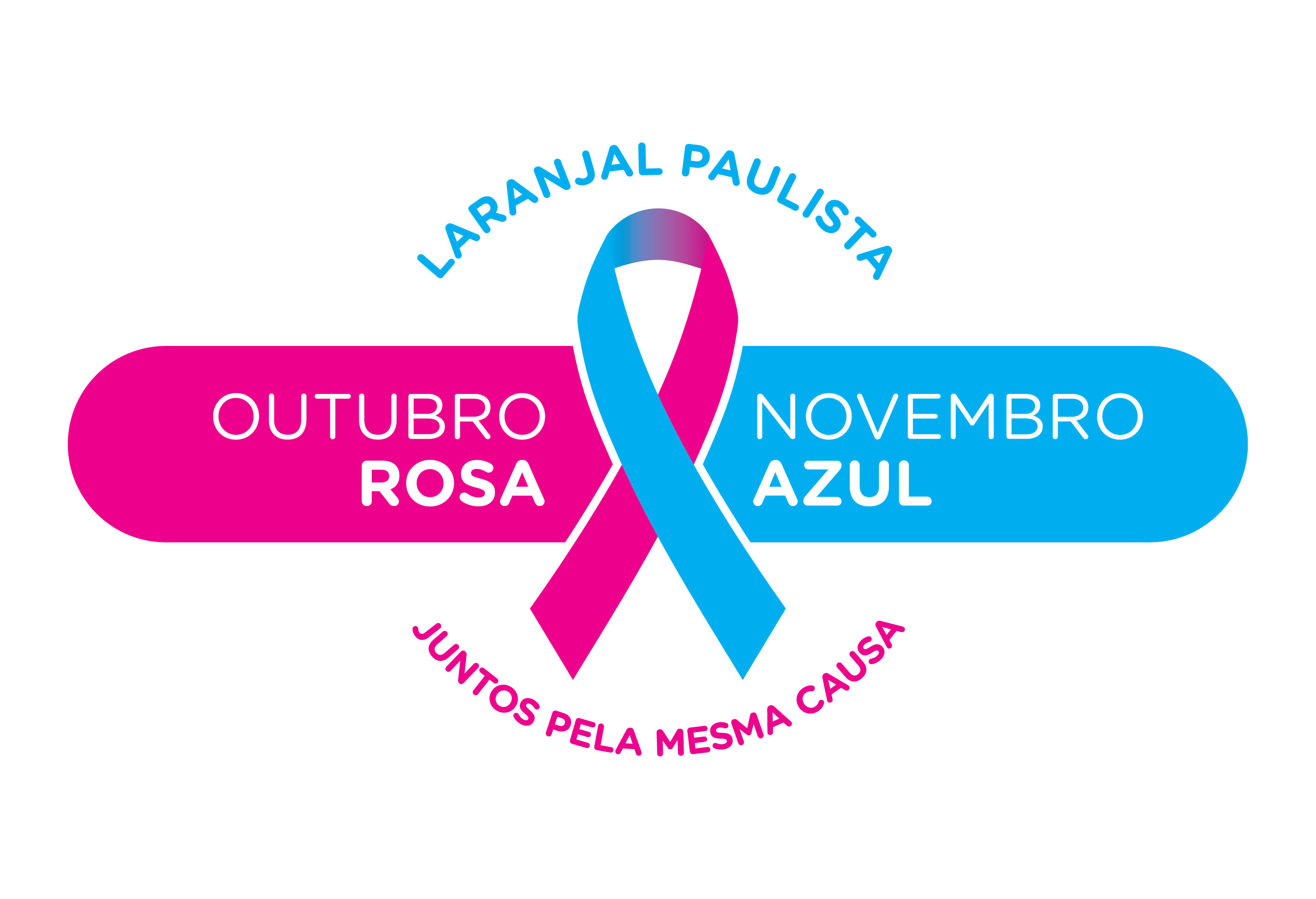 Laranjal Paulista em prol as campanhas Outubro Rosa e Novembro Azul Juntos pela mesma causa  -> Decoração De Outubro Rosa E Novembro Azul