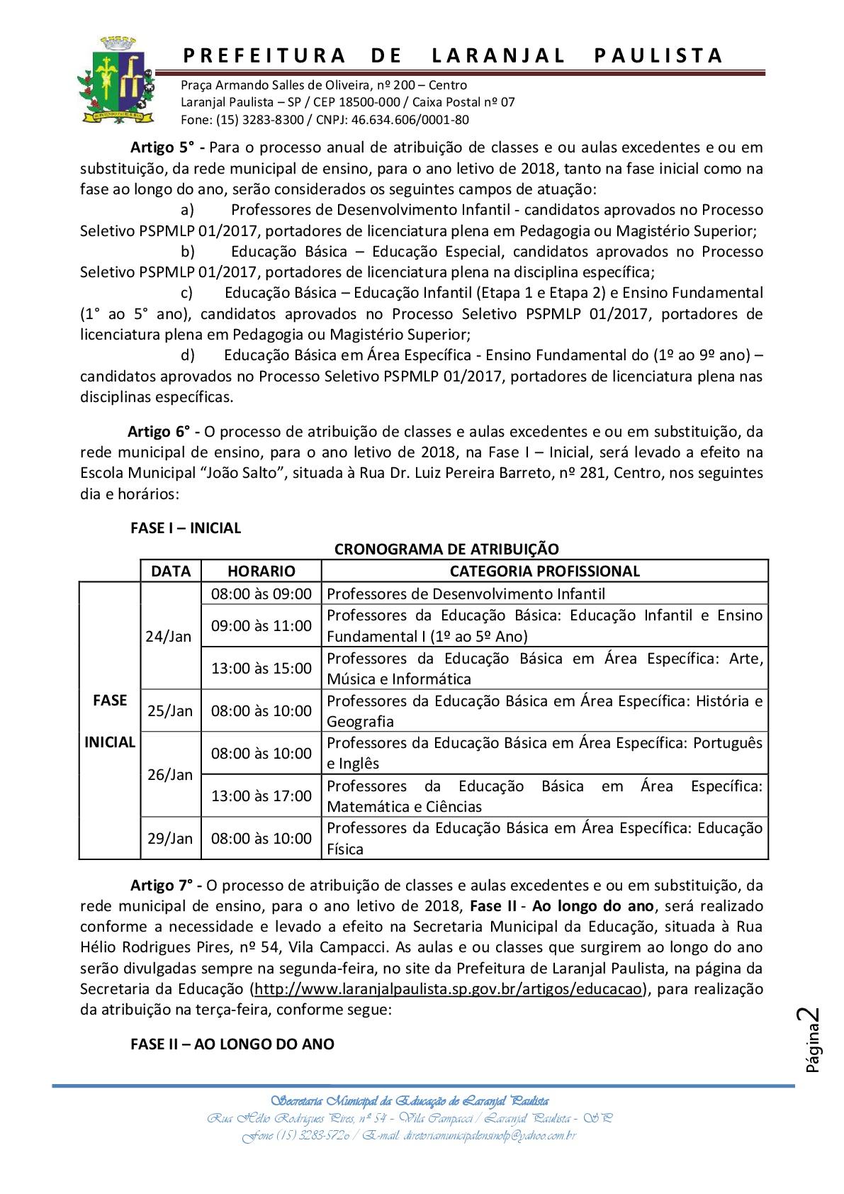 Instrução normativa 2018 - 001 - Excedentes processo seletivo.