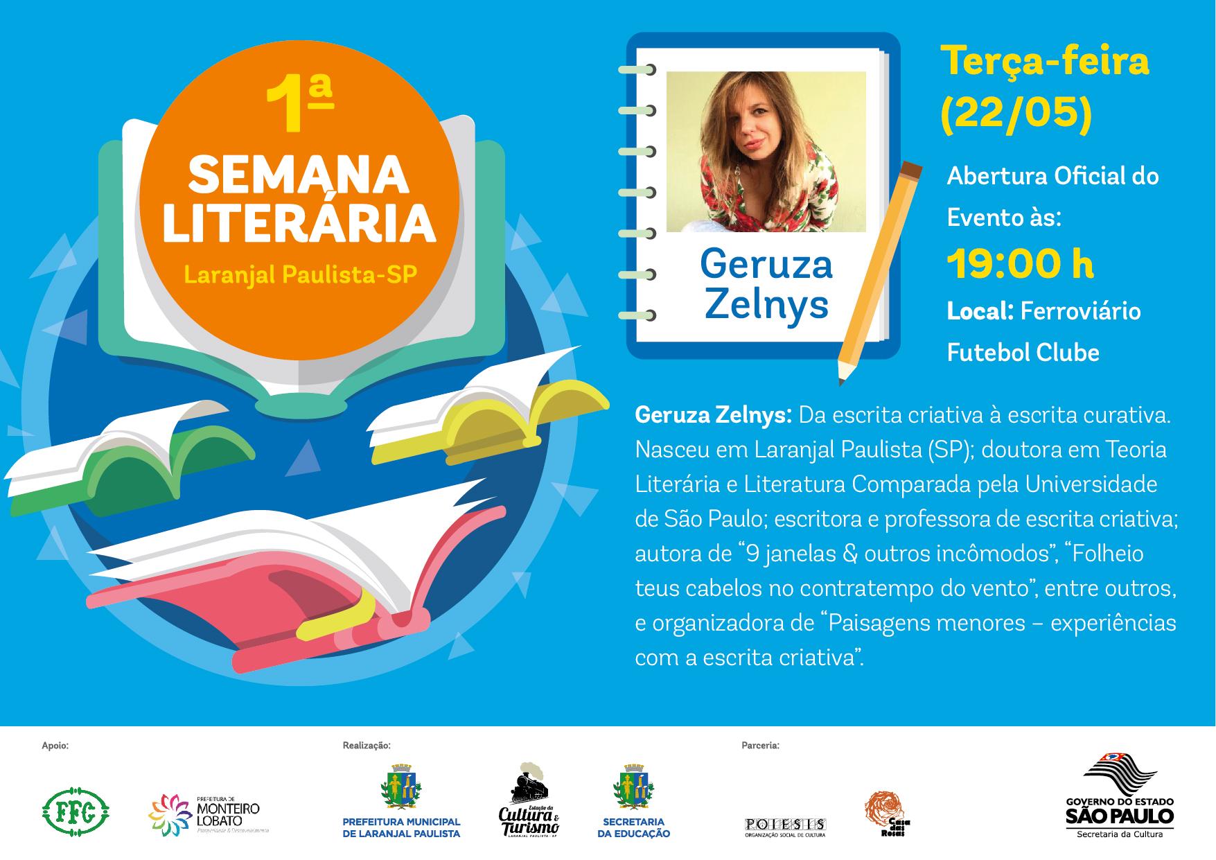Preparativos para 1ª Semana Literária de Laranjal Paulista