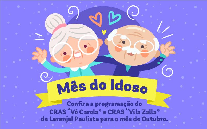 Confira a programação em comemoração ao Mês do Idoso