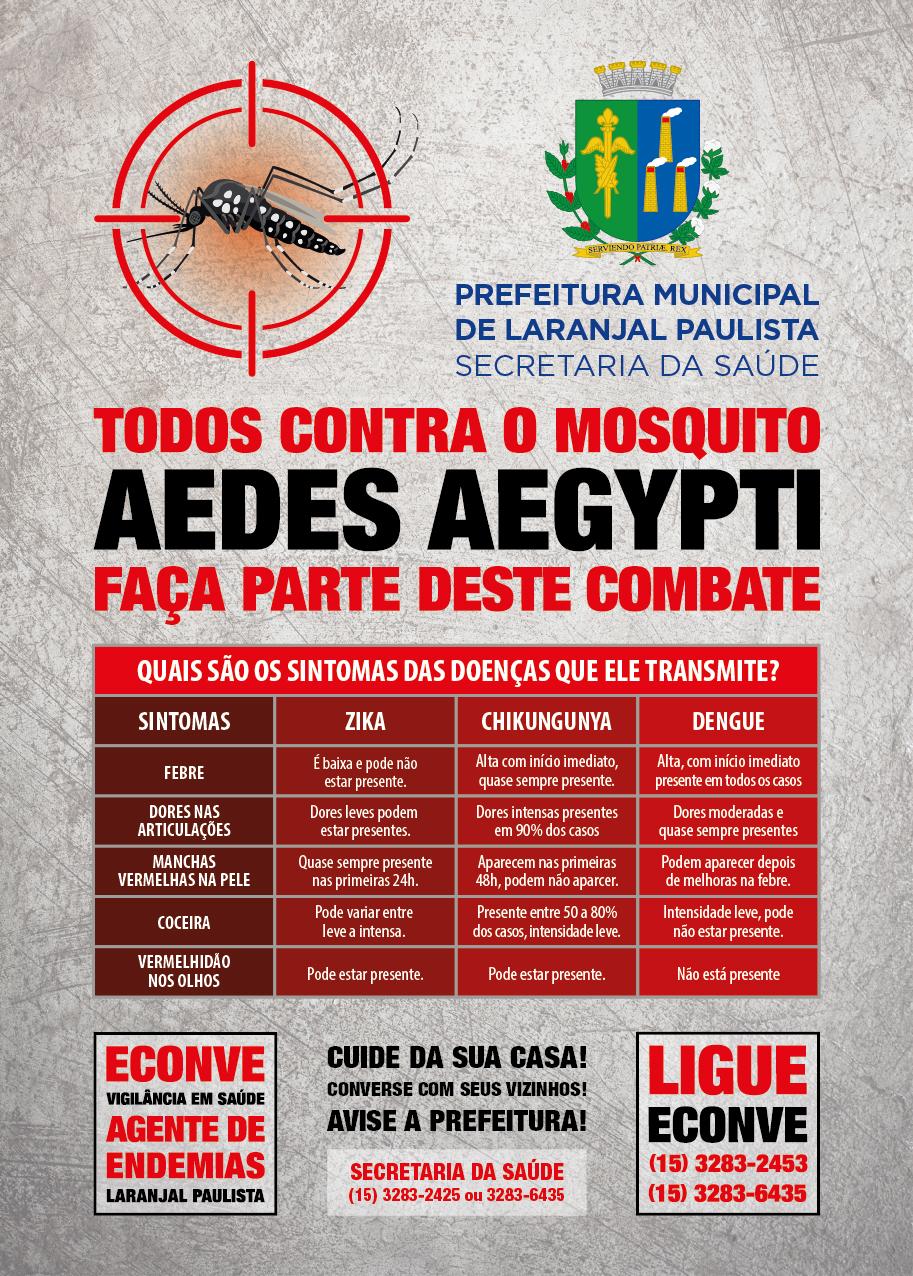 Semana Nacional de Mobilização e Combate ao AEDES AEGYPTI