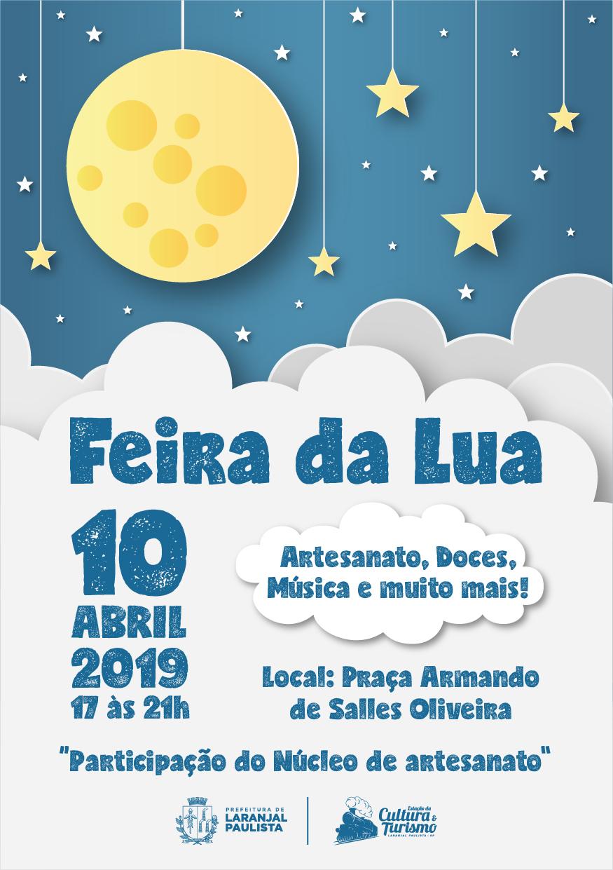 2º Edição da Feira da Lua - 10 de Abril