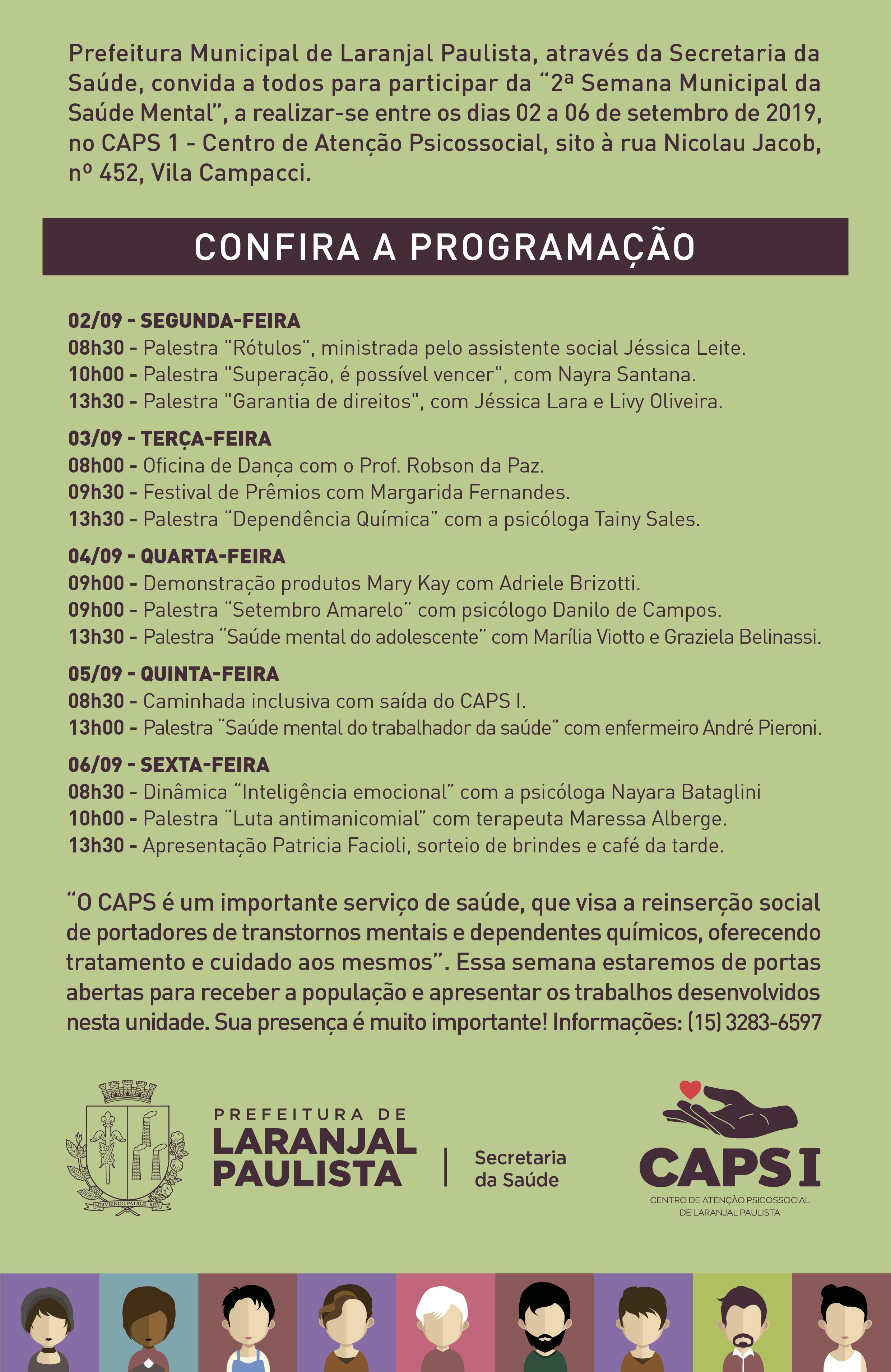 A Saúde agora é prioridade em Laranjal Paulista.