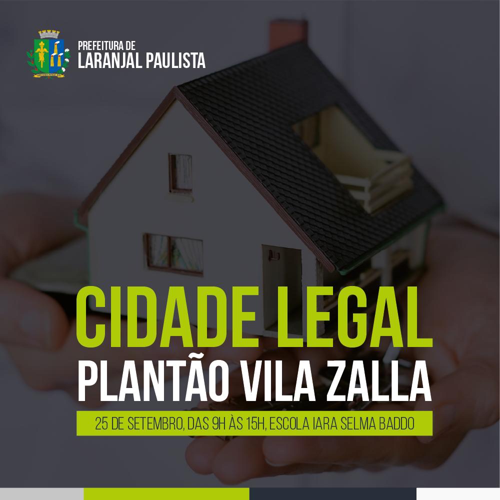 Cidade Legal - Plantão Vila Zalla
